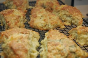 Smoked Gouda and Dill Scones