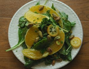 Citrus Salad with Kumquat Vinaigrette