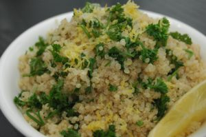 Lemon Parsley Quinoa