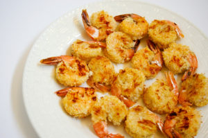 Easy Baked Coconut Shrimp