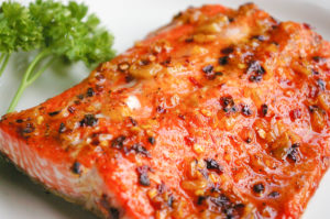 Honey-Orange Glazed Salmon