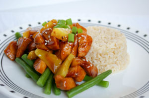 Fresh Pineapple Teriyaki Chicken