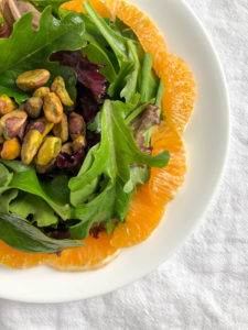Orange Pistachio Salad