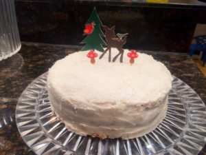 Gluten Free Coconut Dream Cake